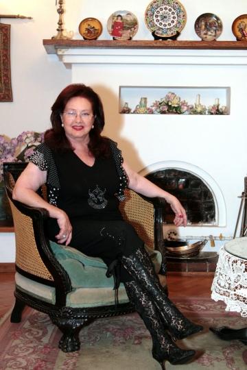 De Paste, Stela Popescu are casa plina de oaspeti