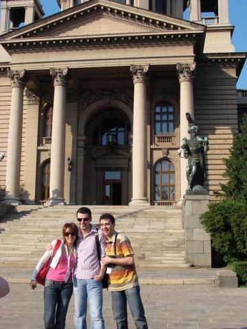 Nico si Vlad viziteaza Belgradul
