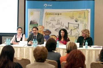 "Mihaela Radulescu sustine programul educational al Enel, ""Young Energy"""