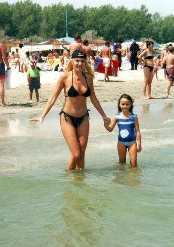 Dana Savuica are o plaja preferata