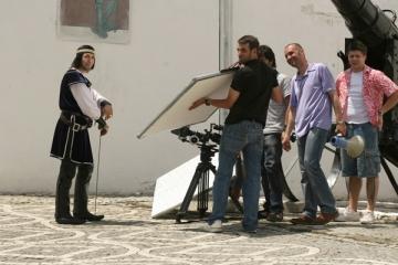"Bandidos au ""asediat"" Cetatea Brasovului"