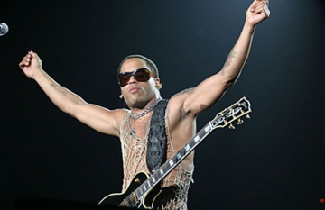 "O ambianta ""funky cool"" pentru Lenny Kravitz"