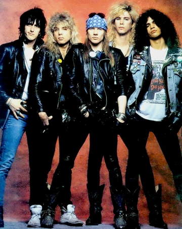Guns'N'Roses, acuzati de plagiat