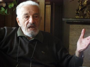 Sergiu Nicolaescu, iar pe platourile de filmare