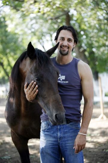 Denis Stefan, dresor de cai