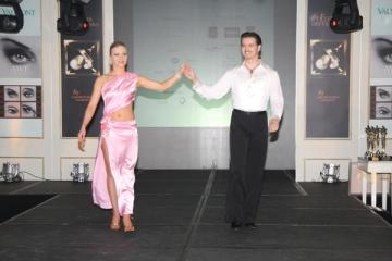 Elwira Petre, instructor de tango pentru Dragos Bucurenci