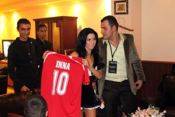 Inna, numarul 10 in echipa nationala a Turciei