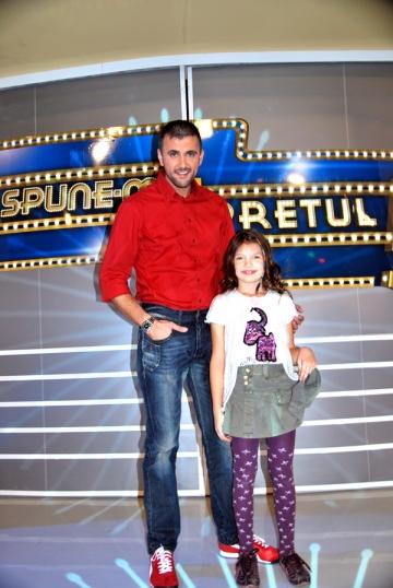 Ayana, coprezentatoare alaturi de tatal ei, Cosmin Cernat