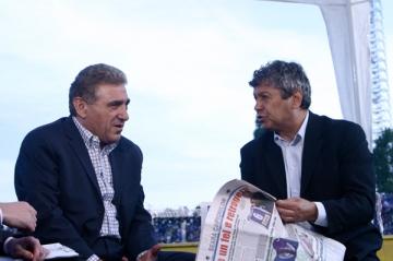 Mircea Lucescu atacat de Giovani Becali
