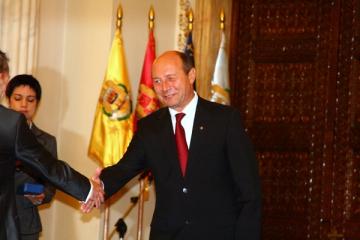 Basescu a devenit academician