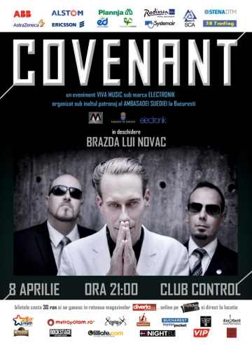 Covenant canta in Club Control