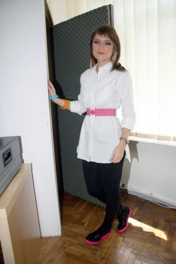 Alexandra Ungureanu si-a cumparat apartament