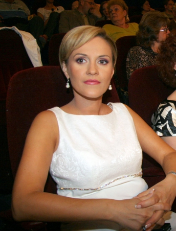 Gabriela Vranceanu Firea e o fire... superstitioasa