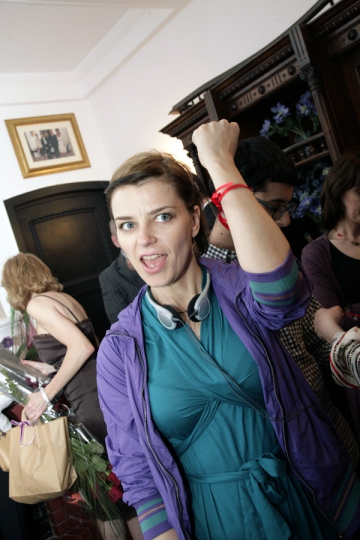 Gianina Corondan joaca in filmele absolventilor de Regie