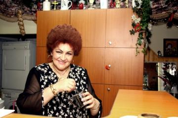 Elena Merisoreanu, emotii alaturi de nepoti