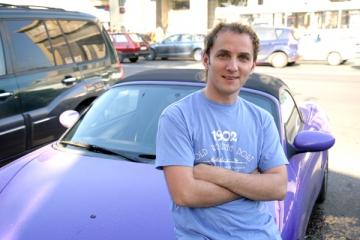Mihai Traistariu, probleme cu masina in Capitala