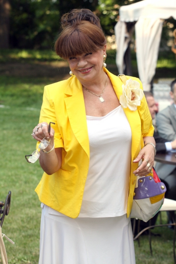 Cristina Stamate vrea un rol intr-o telenovela romaneasca