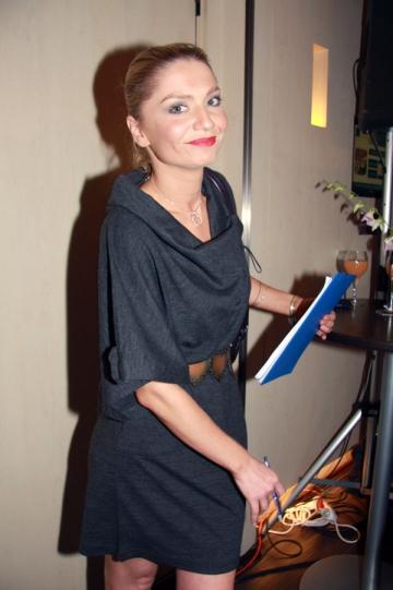 Cristina Cioran, implinita doar profesand ca actrita