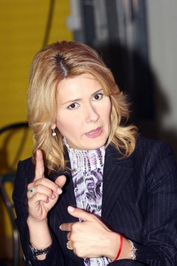 Alessandra Stoicescu, criticata uneori de iubitul ei