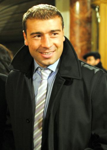 Lucian Bute, cititor fidel al lui Coelho