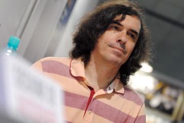 Norman Manea si Mircea Cartarescu la Gaudeamus 2010