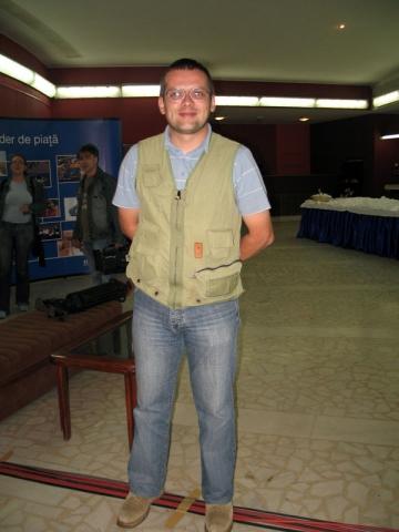 Adelin Petrisor, printre studentii de la Targu-Mures si Sibiu