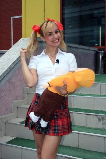Bebelusa Oana a indeplinit dorinta mamei sale: a nascut o bebelusa
