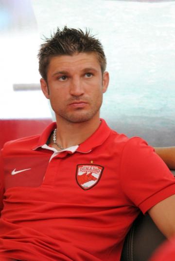 Dinamovistul Andrei Cristea si-a reluat antrenamentele