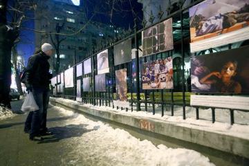 """Expozitia """"Imagism si fotojurnalism"""", la Palatul Sutu"""