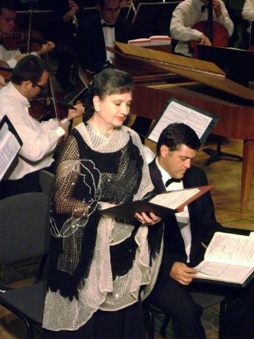 Soprana Georgeta Stoleriu, in recital aniversar, pe scena Ateneului