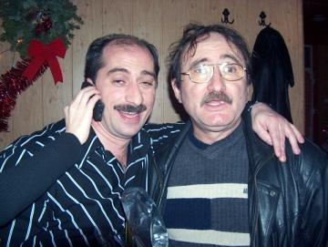 Romica Tociu si Cornel Palade, la sala de sport a lui Catalin Zmarandescu