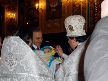 Mircea Geoana, nas de botez in Chisinau
