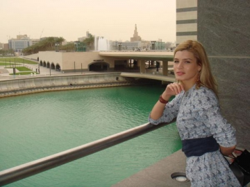Ela Prodan, excursie incitanta in Qatar