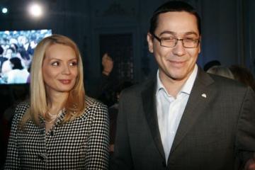 Fetita Dacianei Sarbu si a lui Victor Ponta este sarbatorita azi