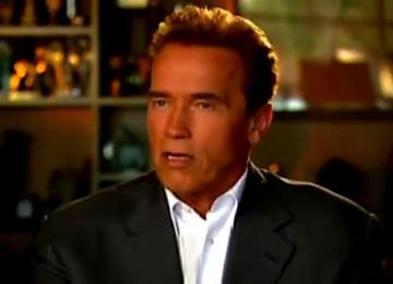 Arnold Schwarzenegger, personaj de benzi desenate
