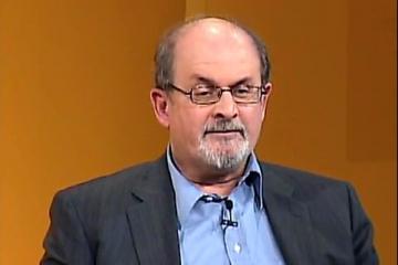 Salman Rushdie: razboi cu Updike, prietenie cu Garcia Marquez