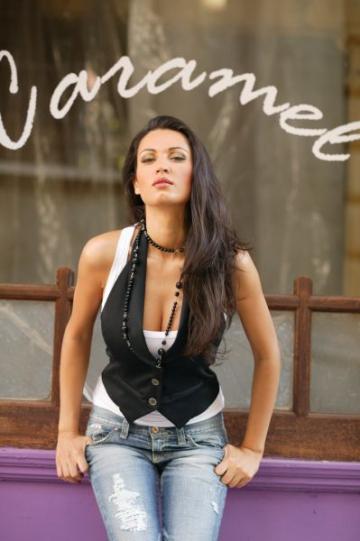 Nicoleta Luciu, in vacanta la Praid