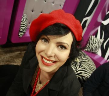 Elena Voineag si-a dus cateii la Bran