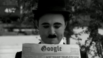 Charlie Chaplin, omagiat de Google intr-un mod inedit