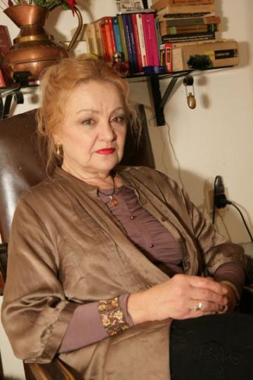 Olga Delia Mateescu petrece Pastele cu familia si prietenii