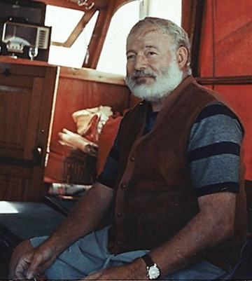 Ernest Hemingway, unul dintre promotorii self-brandingului