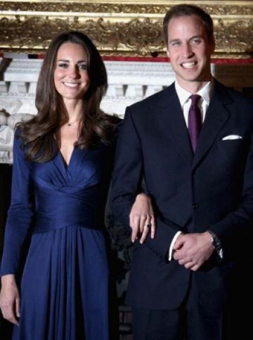 Printul William si sotia sa au plecat in luna de miere