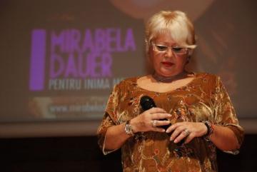 Mirabela Dauer, uitata de propriul fiu