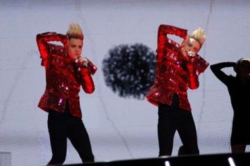 Eurovision 2011: Lena ii avantajeaza pe gemenii din Irlanda