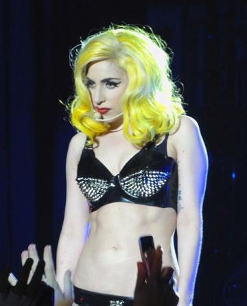 Lady Gaga, fana inraita Iron Maiden