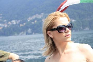 Andreea Marinescu si-a sarbatorit ziua de nastere la Milano