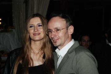 Iulia si Mihai Albu, alaturi de copiii bolnavi de cancer
