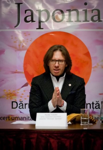 """Nicolae Voiculet, """"voluntar al sperantei"""" pentru Japonia"""