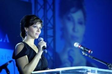 Oana Cuzino, alaturi de copiii bolnavi de cancer