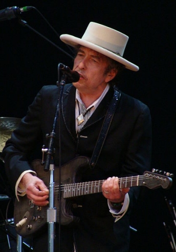 Versuri de Bob Dylan, niciodata publicate, scoase la licitatie